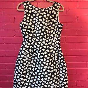 Kate Spade heart-print size 8 dress